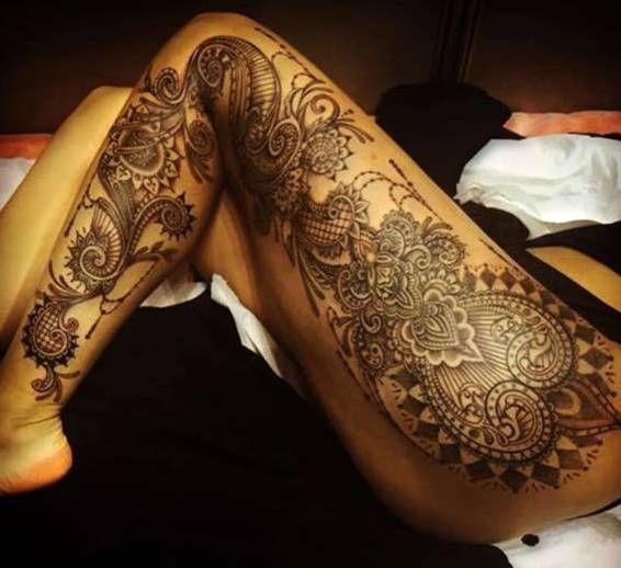 noga kobiety na tatua e. Black Bedroom Furniture Sets. Home Design Ideas