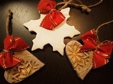 Świąteczne ręcznie robione ozdoby na choinkę- dostępne 300 sztuk :)