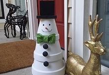 na snieg w tym roku nie ma co liczyc , wiec balwana tylko z doniczek mozna zr...