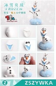 Uroczy Olaf z modeliny chyba
