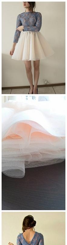 nowa 36 38 suknia pracownia projektowa tiulowa studniówka sylwester tutorial ...