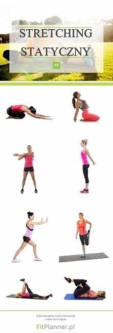 Ćwiczenia rozciągające na wzmocnienie mięśni ❤️  Wykonanie: Wykonaj każdą ser...