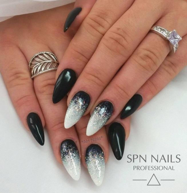 Winter is coming!  Nails by Agnieszka Hausman, SPN Nails UK fajnusie.