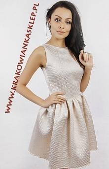 elegancka sukienka na sylwe...