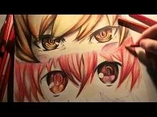 how to draw anime style eyes?