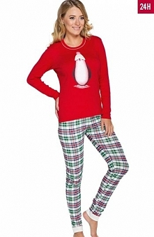 Italian Fashion Kristi dł.r. dł.sp. piżama Śliczna piżama damska, bluzka z dł...