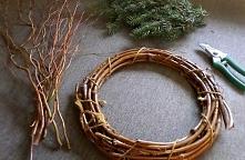 Jak zrobić Bożonarodzeniowy wianek na drzwi ( DIY )