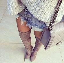 Super <3 Kliknij w zdjęcie i zobacz gdzie kupić te buty i sweterek ;)