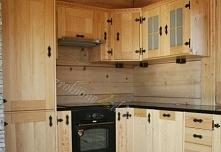 Co myślicie o tej kuchni w stylu góralskim ?  Realizacja: Meble drewniane - z...