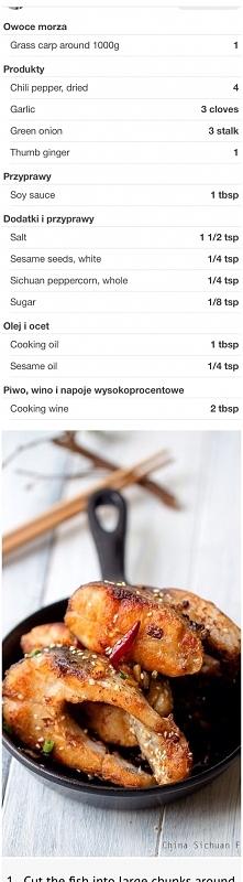 karp inaczej - orientalny smak