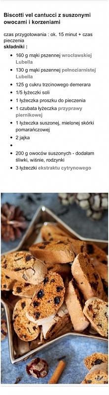 biscotti - można dodać płat...