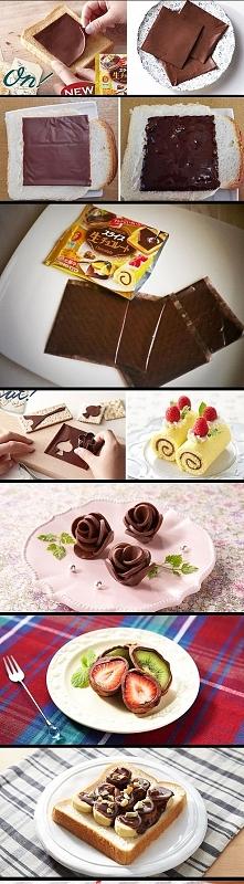 Japonia nie przestaje zaskakiwać: czekolada w plastrach:D