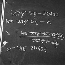Matematyka odpowiedzią na każde pytanie! :D