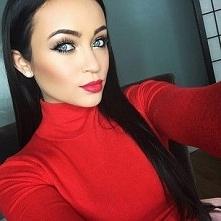 Makijaże z czerwoną pomadką zdjęcia, lubicie makijaże z czerwoną pomadką?