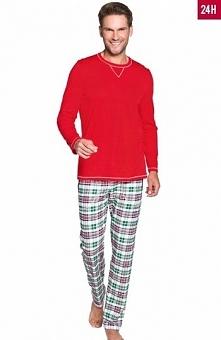 Italian Fashion Krzysztof dł.r. dł.sp. piżama Wygodna piżama męska w świetnym...