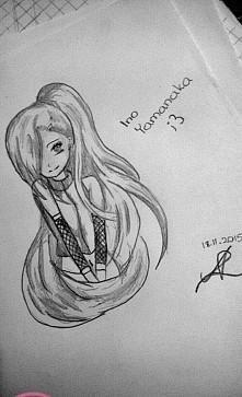 Ino Yamanaka Kolejny rysuneczek
