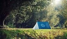 Książkowy namiot.
