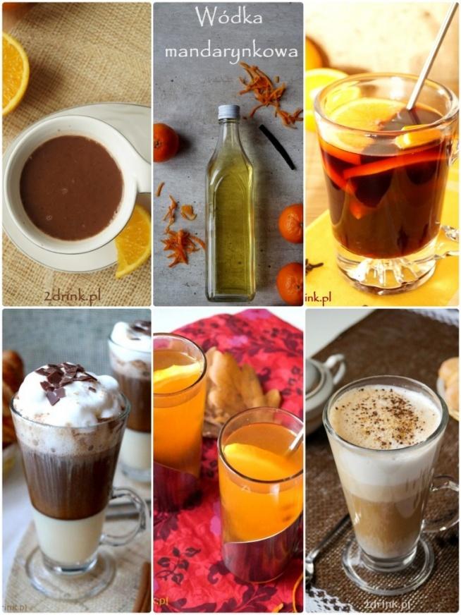 kawy, nalewki, grzańce na święta