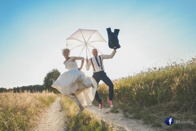 Pomysł na plener ślubny + nasze zdjęcia.