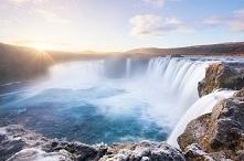 Wodospady W Islandii