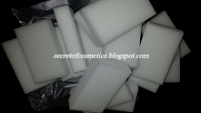 Magiczne gąbki już wjechały na bloga!:)