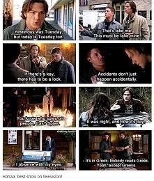 jedno słowo: Supernatural