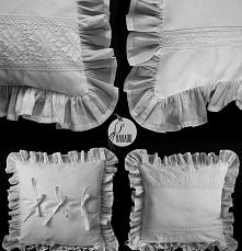 Rozmiar 40/40, z falbanami 52/52. Poduszka uszyta z dwóch rodzajów bawełny. P...