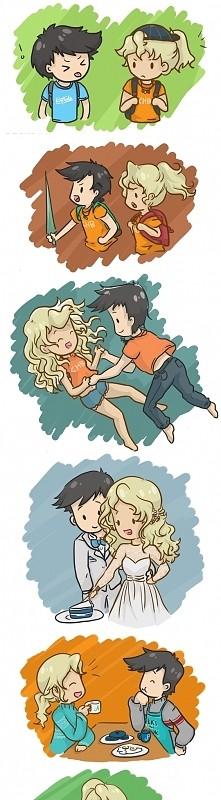 Percy i Annabeth