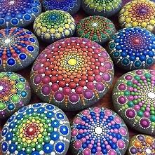 malowane kamienie :)