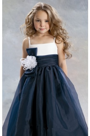 Pleated Organza Dress By Jordan Sweet Beginnings Collection L391