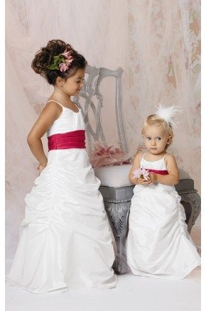Draped Tufted Gown By Jordan Sweet Beginnings Collection K290
