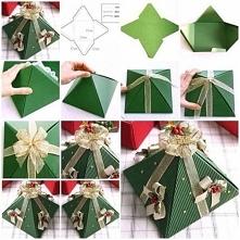 Wspaniały pomysł na zapakowanie drobnego prezentu ;)
