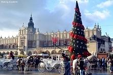 Bajkowe widoki na Rynku Głównym w Krakowie :)