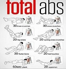 Ćwiczenia za wszystkie partie brzucha
