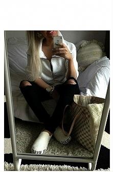 czarno bialo :)