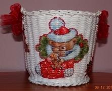 Koszyk w wersji świątecznej