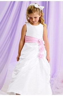 Taffeta Flower Dress By Jor...