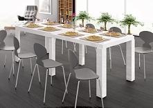 Stół Capri Duo - Hubertus meble - Biały