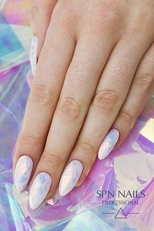Mega hit tego roku - szklane paznokcie! Glass nails SPN Nails