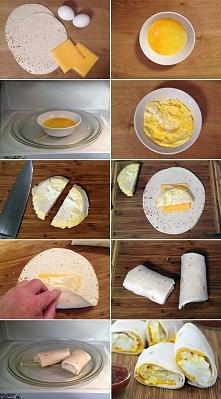 Śniadanie na szybko: tortil...