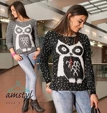 Sweter z sową