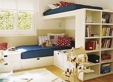 Amerykański pokój dla dzieci czyli jak urządzić 1 sypialnię dla 2 chłopców? Z...