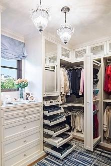 Zobacz jak wygląda funkcjonalna, wygodna garderoba i zainspiruj się! Urządź s...