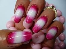 Rózowy gradient- elegancja i styl na codzień