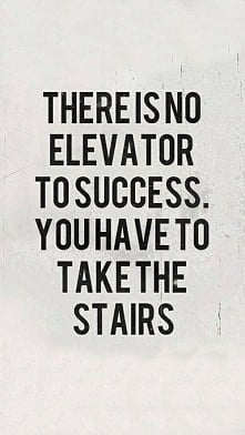 no elevator...only stairs