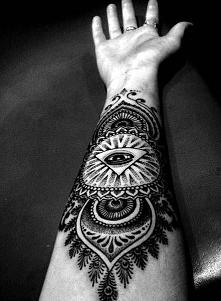 tatuaż na rękę