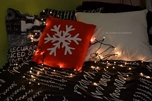 Świąteczna poduszka diy ❄ ❄klik w zdj❄