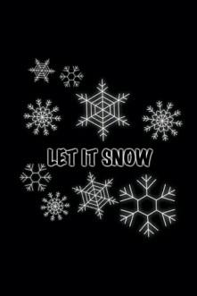 ~ | 8 | LET IT SNOW !! ❤❤♥♥(: