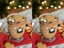 Składniki : 500 ml mleka,150 g gorzkiej lub deserowej czekolady 1/2 łyżeczki ...
