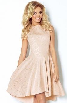 SAF Soffis sukienka złota Ekskluzywna sukienka, wykonana z dzianiny z połyskl...